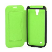 Book Case Ancus for Samsung i9505/i9500 Galaxy S4/Vodafone Smart 4 Olive - Green