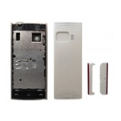 Front Cover Nokia X6-00 with keyboard White OEM