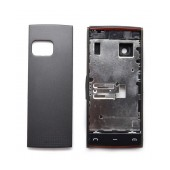Front Cover Nokia X6-00 with keyboard Black OEM