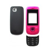 Front Cover Nokia 2220 Slide with keyboard Pink OEM