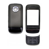 Front Cover Nokia C2-02 with Keyboard Black OEM