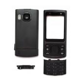 Front Cover Nokia 6700 Slide with keyboard Black OEM