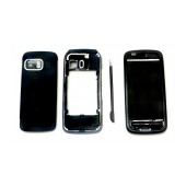 Front Cover Nokia 5800 XpressMusic with keyboard Black OEM