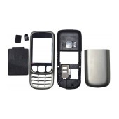 Front Cover Nokia 6303 Classic without keyboard Silver OEM