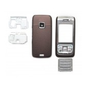 Front Cover Nokia E65 with keyboard Brown OEM