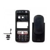Front Cover Nokia N73 Music Edition with keyboard Black OEM