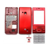 Front Cover S.Ericsson J20 Hazel with keyboard Red OEM