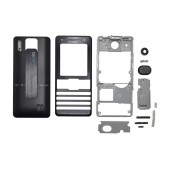 Front Cover S.Ericsson K770 without keyboard Black OEM