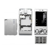 Front Cover S.Ericsson W995 with keyboard Silver OEM