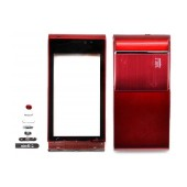 Front Cover S.Ericsson U1 Satio with keyboard Red OEM