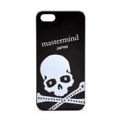 Case Faceplate for Apple iPhone SE/5/5S Skull Black