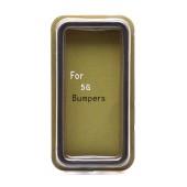 Bumper Case Ancus for Apple iPhone SE/5/5S Black - Orange
