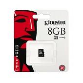 Flash Memory Card Kingston MicroSDHC 8GB Class 4