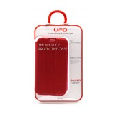 Book Case UFO for Samsung N7100 Galaxy Note II Red - Pink