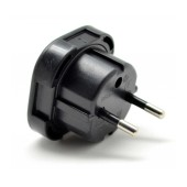 Uk to European Adaptor Black