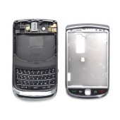 Front Cover BlackBerry Torch 9800 with Jack Connector and Keyboard Μαύρη Original