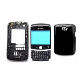 Front Cover BlackBerry Curve 9360 with Digitizer, Jack Connector and Keyboard Black Original