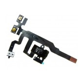 Jack Connector Apple iPhone 4S with Volume and Mute Button Black Original