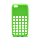 Case Silicon KLD for Apple iPhone 5C Green