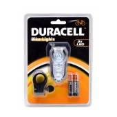 Duracell Bicycle Light 3 Led with 2 x ΑΑΑ Batteries