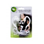 Sport Earphone Ancus 3.5 mm White for mp3, mp4 and Sound Devices