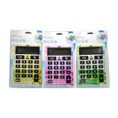 Calculator Set TopWrite 8 Digit Three Colors 3 Pieces