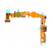 Flex Cable LG Optimus L5 II Dual E455 with Connector I/O and Microphone Original EBR76318701