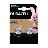 Buttoncell Duracell CR2032 Pcs. 2