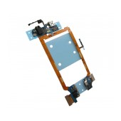 Flex Cable LG G2 D802 with Connector I/O, Microphone and Jack Connector Original EBR77492001