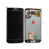 Original LCD & Digitizer Samsung SM-G900F Galaxy S5 with Tape Black GH97-15734B, GH97-15959B