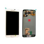 Original LCD & Digitizer Samsung SM-G900F Galaxy S5 with Tape White GH97-15734A , GH97-15959A