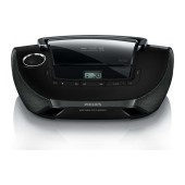 Philips USB MP3-CD Soundmachine AZ1837/12 Black with USB Port