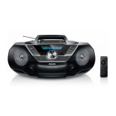 Philips USB CD Soundmachine AZ780/12 Black with USB Port and Digital Tuning