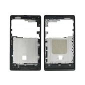 Front Cover Sony Xperia E/E Dual Black Original A/401-58570-0001