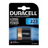 Battery Lithium Ultra Photo Duracell CR-P2 6V DL223/EL223AP Pcs. 1