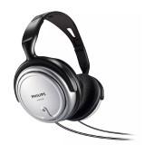 Headphones Stereo TV Philips SHP2500 3.5 mm Silver - Black