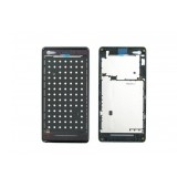 Front Cover Sony Xperia M/M Dual Black Original 1272-3743