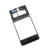 Middle Cover Frame Sony Xperia M/M Dual Original 1272-3747