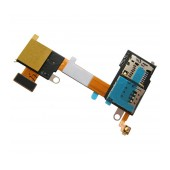 Sim Connector Sony Xperia M2 with Memory Card Reader Original 78P7170002N