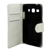Book Case Ancus Teneo for Samsung G3500 Galaxy Core Plus White
