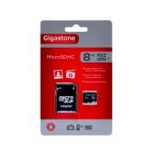 Flash Memory Card Gigastone MicroSDHC 8GB Class 4