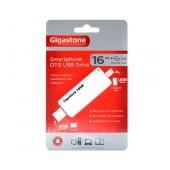 USB 2.0 Gigastone Smartphone OTG USB Drive Micro USB + USB 16GB U204A