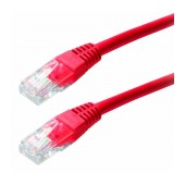 Patch Cable Jasper Cat 5 UTP 0.25m Red