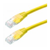 Patch Cable Jasper Cat 5 UTP 0,25m Yellow