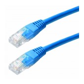 Patch Cable Jasper Cat 5 UTP 0,25m Blue