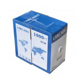 Ethernet Cable Jasper Cat 6 UTP Solid 305m Grey