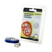 Universal Keychain Remote Control for TV Different Colors with Battery CR2025 1 Pcs