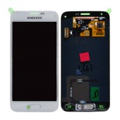 Original LCD & Digitizer Samsung SM-G800F Galaxy S5 Mini with Tape White GH97-16147B