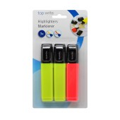 Highlighter Top Write 3 Pieces