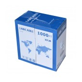 Ethernet Cable Jasper Cat 5E UTP Solid 305m Grey